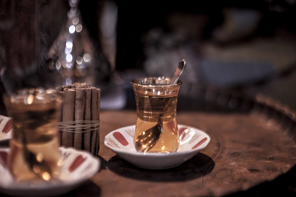 cinnamon turkish tea