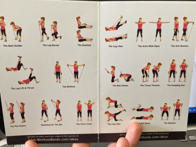exercise resistance band workout pdf