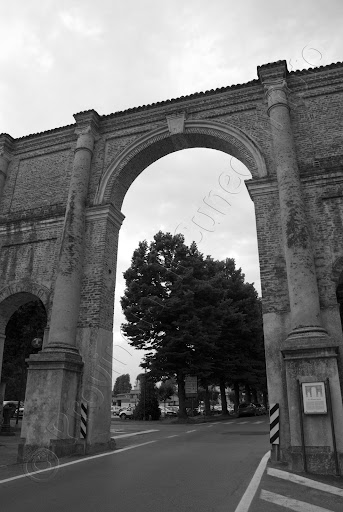 Fotografie Arco Porta Narzone - Cherasco