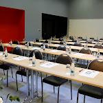 Malý sál při školním uspořádání