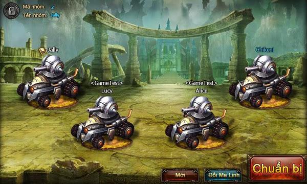 Thần Khúc thành game bắn xe tăng với bản cập nhật mới 2