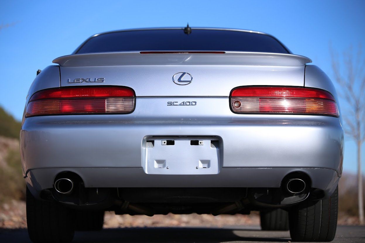 Sell Used Spectacular Condition And Low Mileage 1995 Lexus Sc400 1992 Value Dual Exhaust Rear Spoiler There Is A Little Bit Of Fading On The Bumper But Not Bad