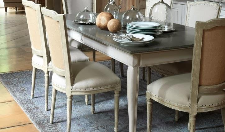 Una mesa de comedor sencilla, elegante y con encanto – vilmupa.com