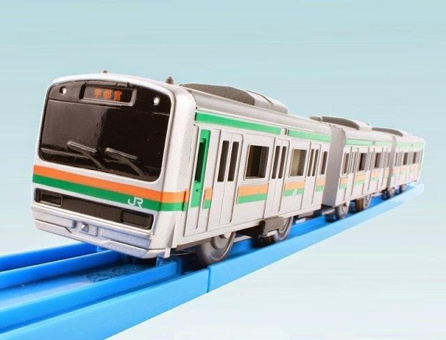 Bộ Tàu hỏa có âm thanh S-43 Sound Series E231 Urban Train mô phỏng giống với thực tế