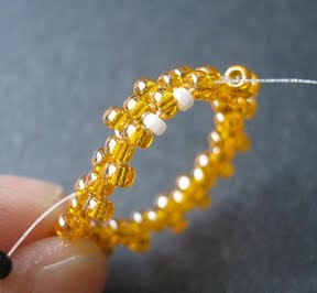 Peyote Stitch Bezel Tutorial