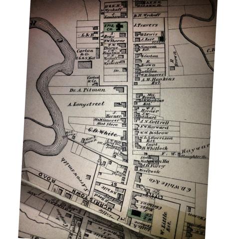 Aberdeen NJ Life: History: Main Street, Matawan (1873) (Part 1) on