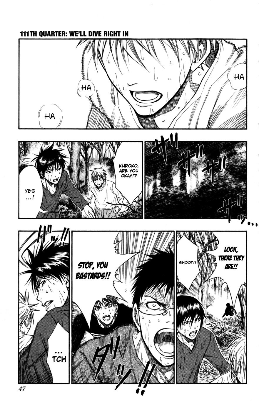 Kuroko no Basket Manga Chapter 111 - Image 01