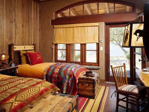 Phòng ngủ mộc mạc cho mùa đông ấm áp-10