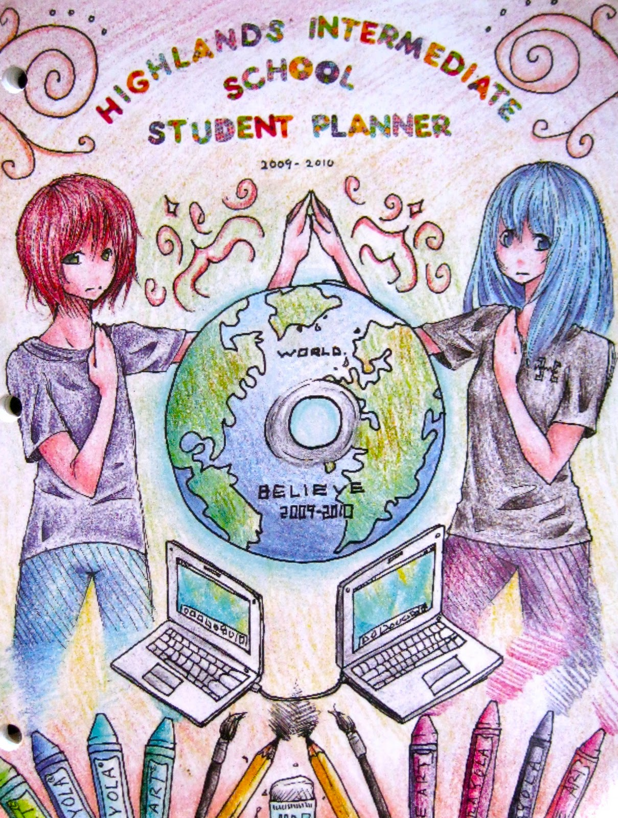 Book Cover Ideas For Competition : Highlands intermediate student activities planner