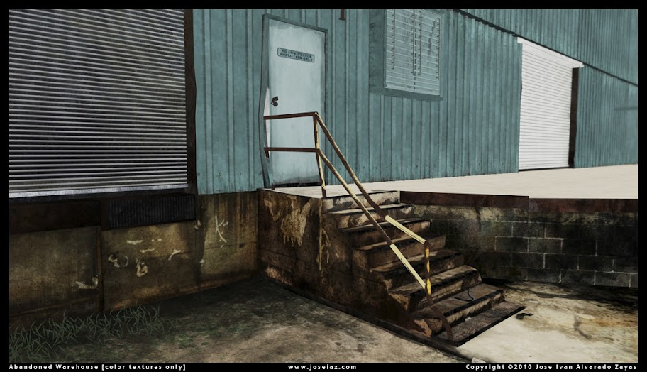 Abandoned Warehouse Environment by Jose Ivan Alvarado Zayas