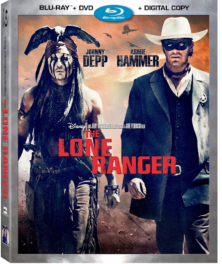 Disney's The Lone Ranger on Blu-ray and DVD - December 17th, 2013