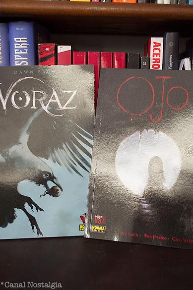 Voraz y Ojo Norma Editorial
