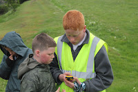 Two scouts at the Maclaren Competition