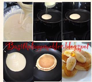 resimli pancake tarifi