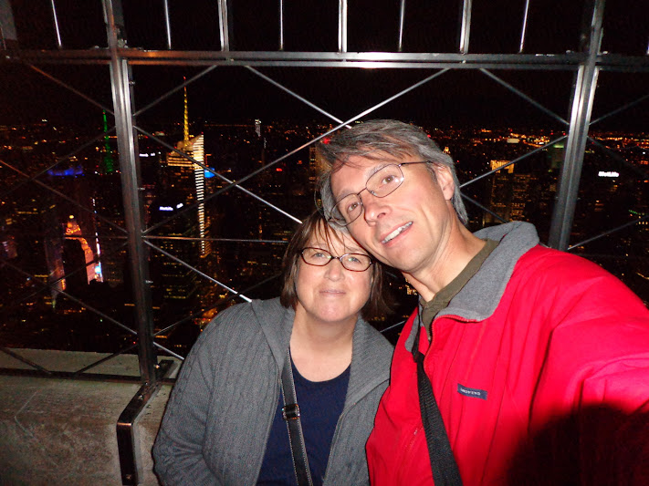 B and O on the Empire State Building!
