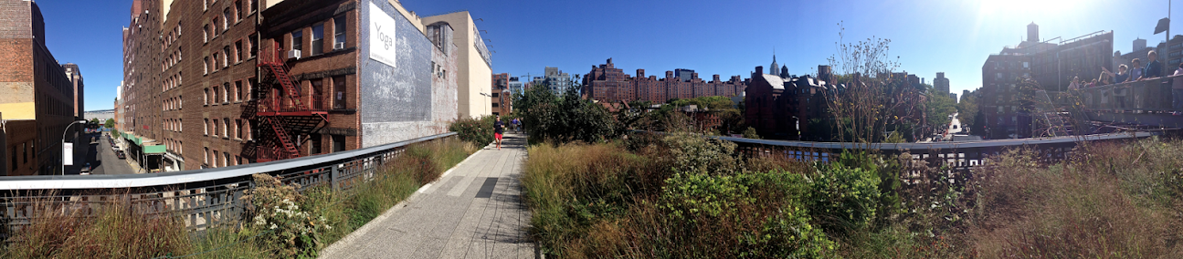 High Line Park, NYC