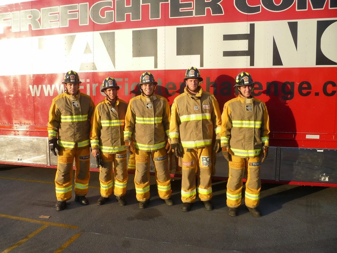 Combat Challenge Pompier Sherbrooke