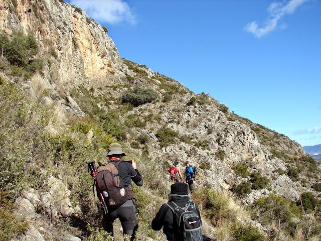 senderismo - Fanzara - Cueva de la Muela - Las Picorzas - Turio
