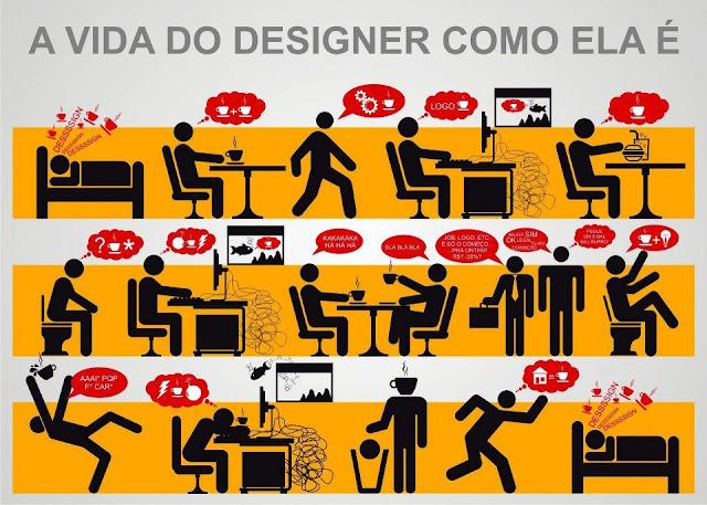 A Vida do Designer como ela é!