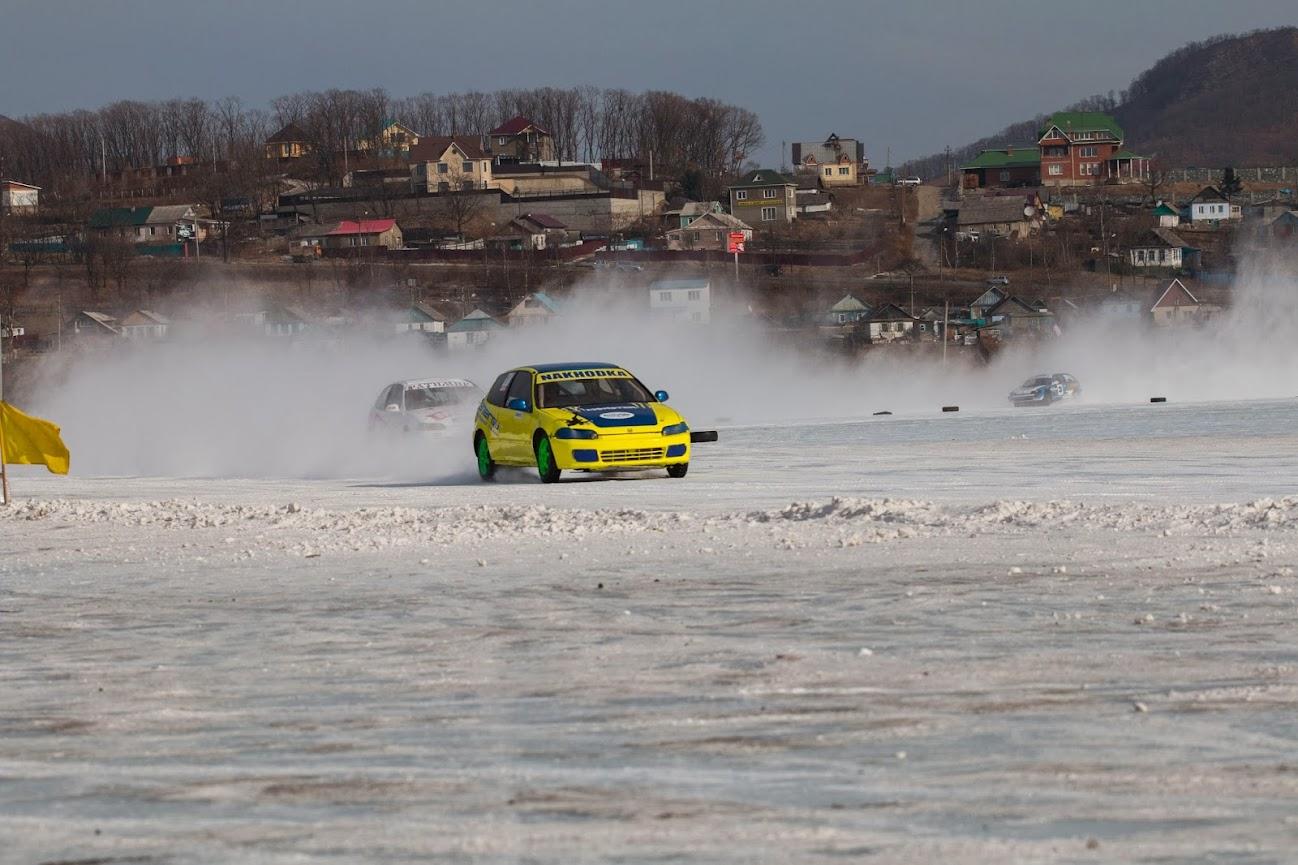 Открытое первенство Находкинского городского округа по ледовым автогонкам