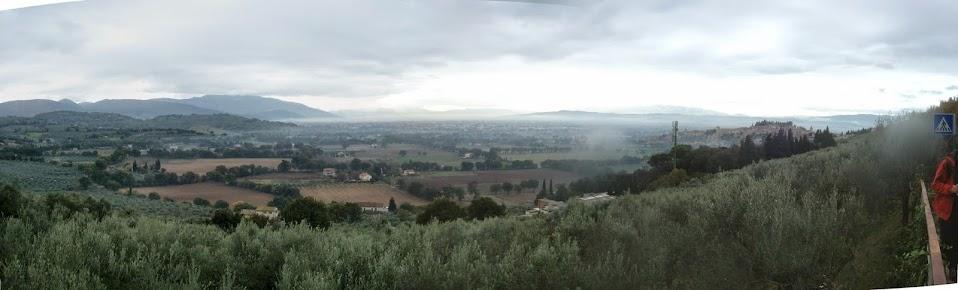 Spello - Collepino: acquedotto romano
