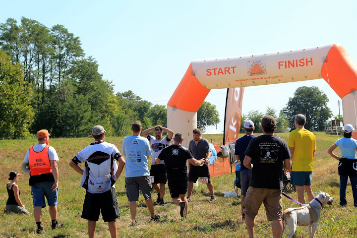 Finish Line at Wakarusa Off Road Challenge
