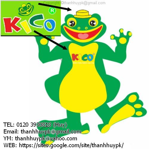 thiết kế con ếch bằng logo của kahchs hàng gửi cho huy