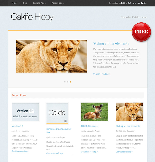 Cakifo Flexible WordPress Theme