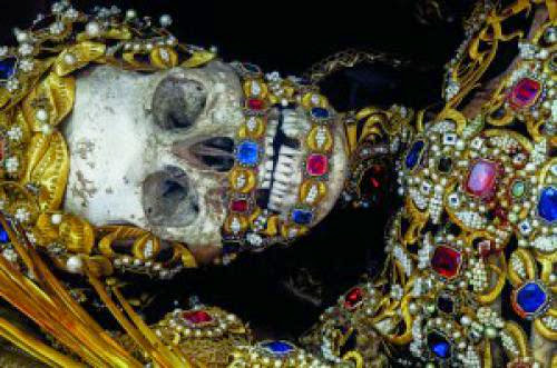Heavenly Bodies Jeweled Sacred Skeletons Of The 16Th Century