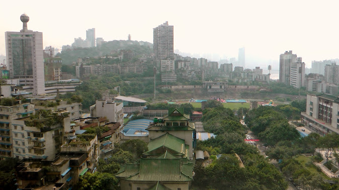 Chongqing, the city on the rivers
