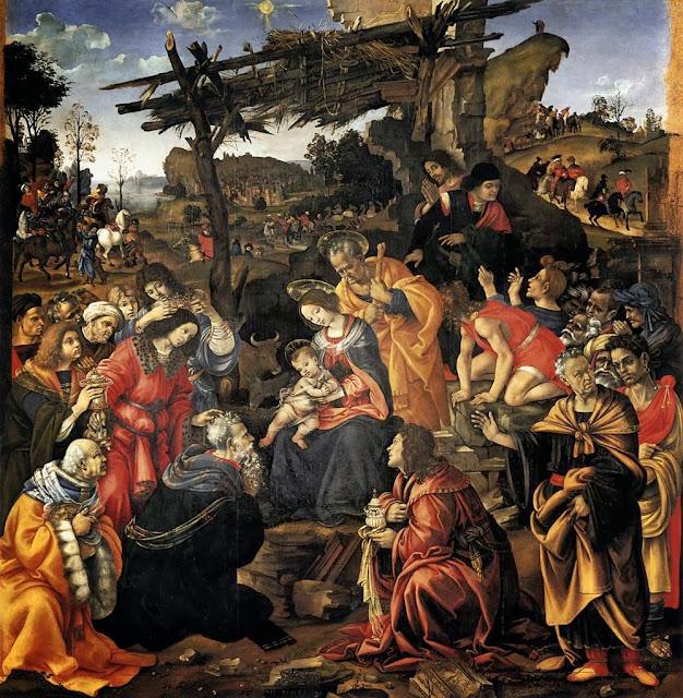 Filippino Lippi - Adoration of the Magi