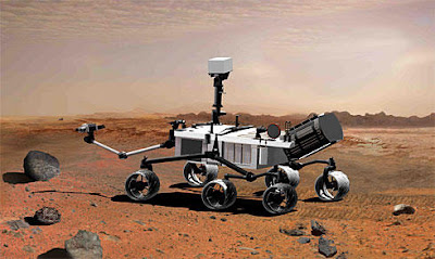 NASA Mars mission takes along a nuclear device