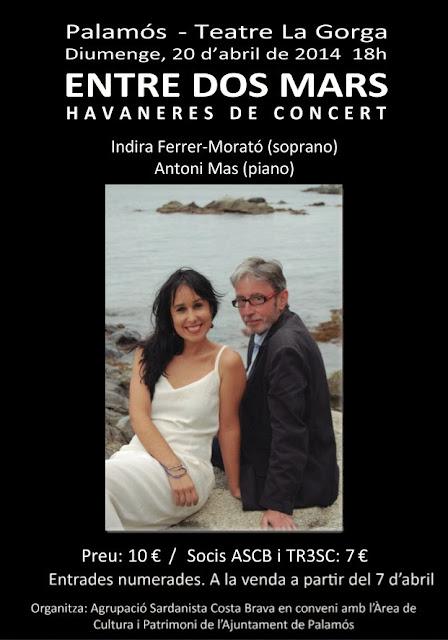 Havaneres en concert: Entre dos mars