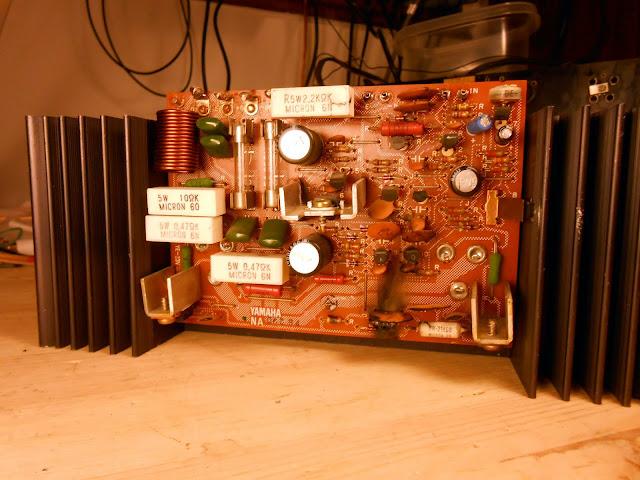 1977 Yamaha CR-2020 Vintage Stereo Receiver Repair