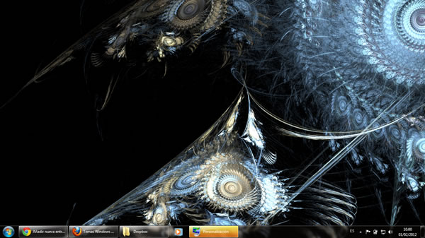 Tema fractales para Windows 7