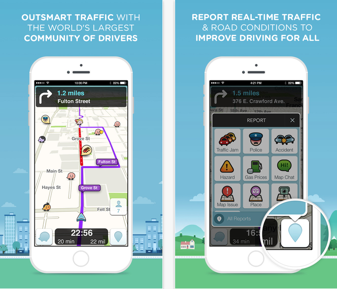 Waze App (11 Helpful Apps for Living in LA).