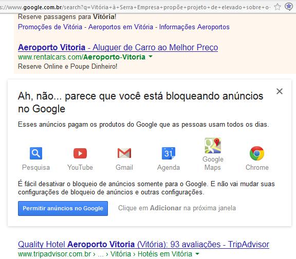 Google AdBlock Plus