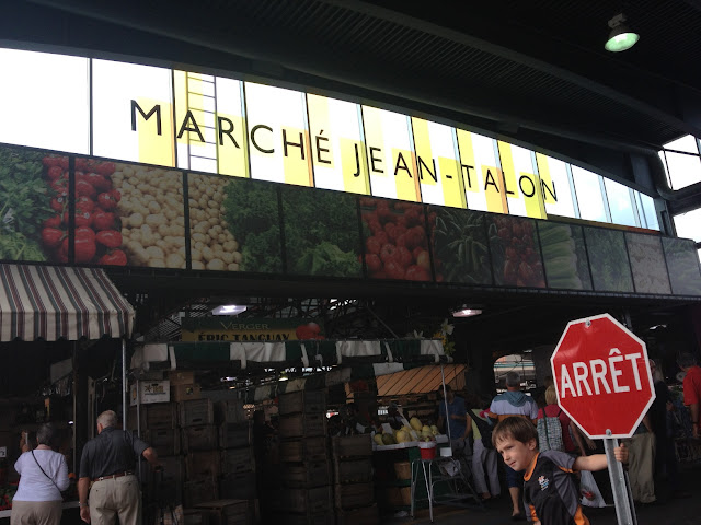 Jean Talon market in Montreal. Photo by Phillip Smith