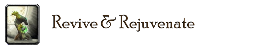 Revive & Rejuvenate