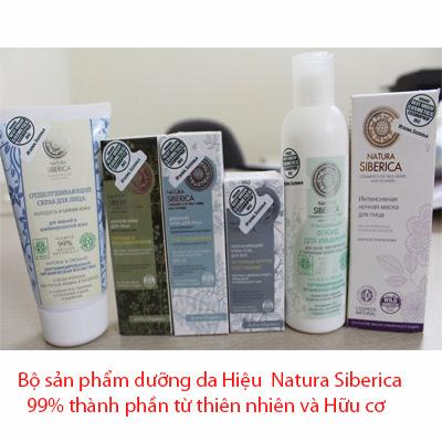 Mỹ phẩm hữu cơ Nga -Mỹ phẩm Natura Siberica -99 % thành phần hữu cơ