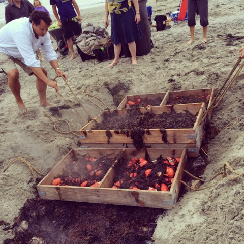 how to host a clambake