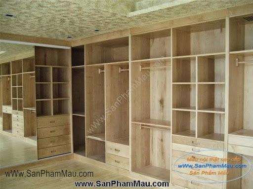 Các mẫu tủ quần áo bằng gỗ công nghiệp-4