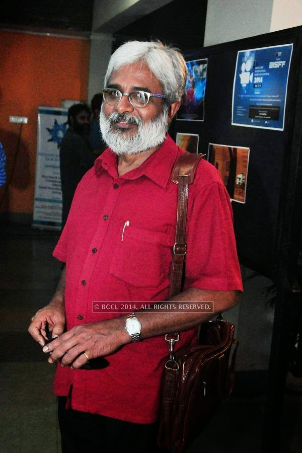 Sunny Joseph during the International Documentary and Short Film Festival, held at Trivandrum.