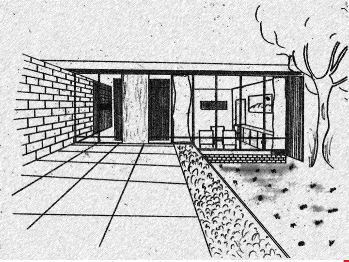 Anoushka 39 s designs perspective drawing for Exterior 2 point perspective