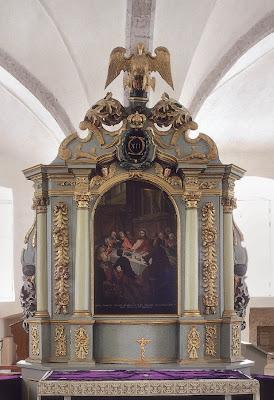 Алтарь шведской лютеранской церкви св. Михаила в Таллинне