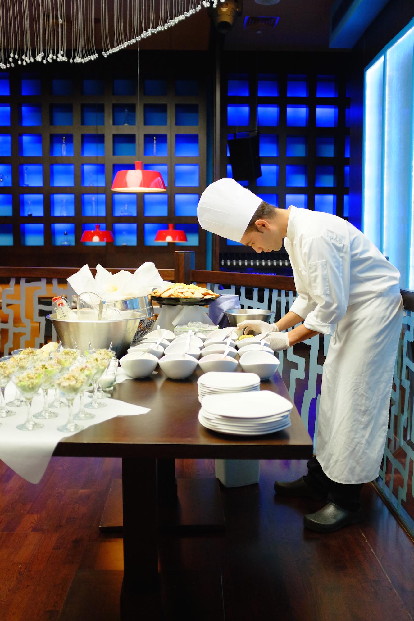 Weekend Dining at La Porte Des Indes in Dubai