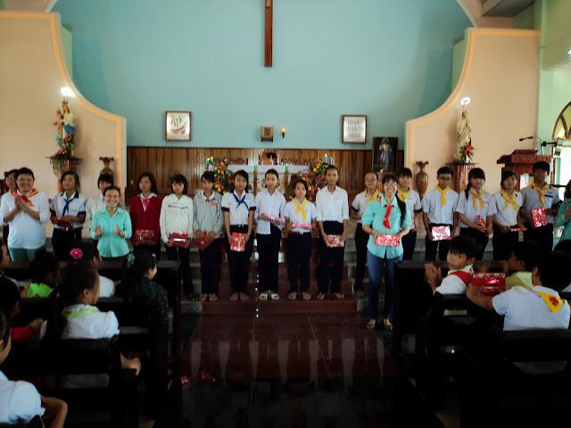 Lễ Tổng Kết Năm Học Giáo Lý tại giáo xứ Tân Hội ngày 23.6.2013