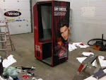 Photo booth for Virgin Mobile