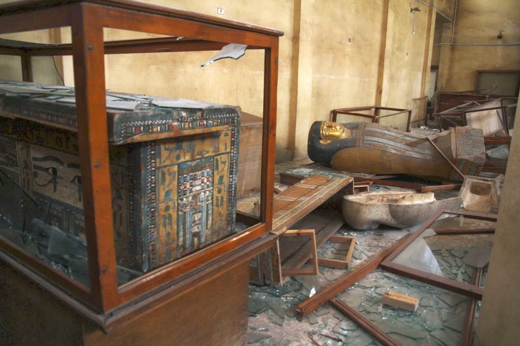 Near East: U.S. to return smuggled antiquities to Egypt