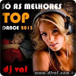 CD - Dj Val Mt - As Melhores Top Dance - 2013